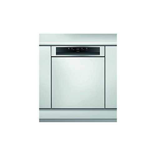 whirlpool wbc3c26x semi int gr 14places a lave vaisselle lave vaisselles. Black Bedroom Furniture Sets. Home Design Ideas