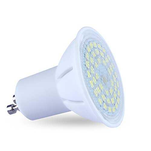lampaous 5 w ampoule led gu10 compatible avec variateur d 39 intensit blanc. Black Bedroom Furniture Sets. Home Design Ideas