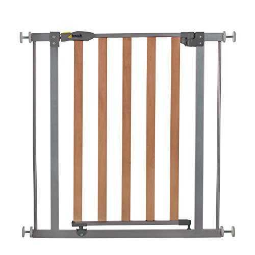 hauck barri re de protection wood lock safety gate pour enfants chiens. Black Bedroom Furniture Sets. Home Design Ideas