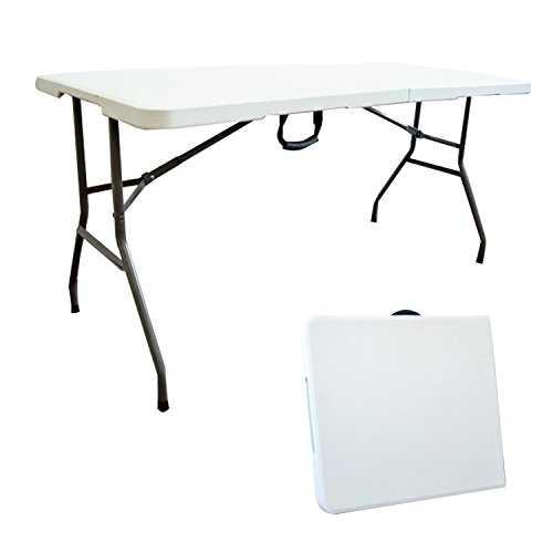 todeco table pliante transportable table en plastique robuste mat riau. Black Bedroom Furniture Sets. Home Design Ideas