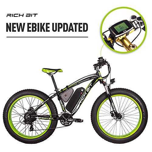 rich bit rt022 1000w v lo lectrique smart e bike 48v 17ah li batterie. Black Bedroom Furniture Sets. Home Design Ideas