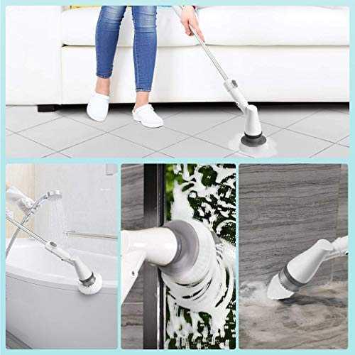 homitt brosse rotative nettoyage electrique brosse kit de. Black Bedroom Furniture Sets. Home Design Ideas