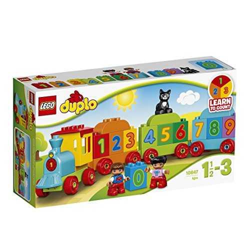 lego duplo le train des chiffres 10847 jeu de construction jeux de. Black Bedroom Furniture Sets. Home Design Ideas