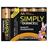 Duracell - Simply - Piles Alcaline - AA x10