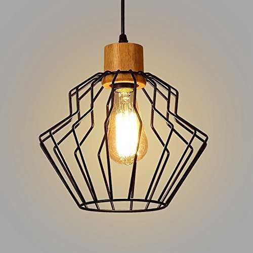 lightess suspension industrielle luminaire vintage design abat jour metal. Black Bedroom Furniture Sets. Home Design Ideas