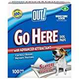 OUT! Set de 100 Go Here Ultra Absorbant Tapis Educateurs pour Chien/Chiot