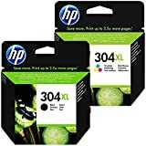 1x HP 304XL Black and 1x HP 304 XL Colour