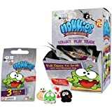 Cut The Rope Nommies Micro Figures 3 Pack Collector 1 Card Set by