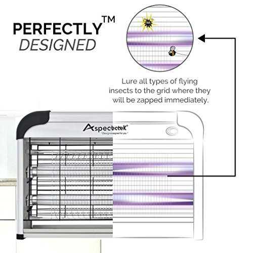 lampe uv tue mouches destructeur d 39 insectes electrique 20w tue mouche. Black Bedroom Furniture Sets. Home Design Ideas