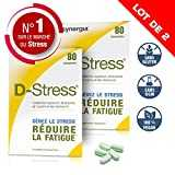 D-Stress ➠ Magnésium hautement assimilé, taurine, arginine et vitamines B ➠ Origine France ➠ Lot de 2