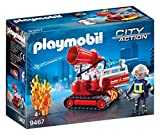 Playmobil Pompier avec Robot d´intervention, 9467
