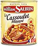 William Saurin Cassoulet Boîte 840 g Net
