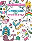 Gorgeous Colouring for Girls - Unicorns and Mermaids
