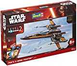 Revell - 06692 - Star Wars - Easy Kit - Poe´s X-Wing Fighter - 55 Pièces