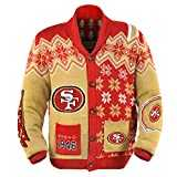 San Francisco 49ers Men´s NFL Ugly Sweater Cardigan