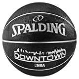 Spalding NBA Downtownblack Basketball-Ballon Noir Taille 7
