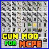 Gun Mod for minecraft Pocket edition PRO