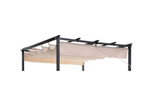 toile de rechange 272x348 cm pour tonnelle 05913. Black Bedroom Furniture Sets. Home Design Ideas