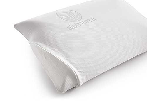 naturalex oreiller ergonomique en mousse m moire de forme aloe vera. Black Bedroom Furniture Sets. Home Design Ideas