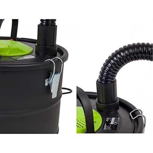 Aspirateur vide cendres chemin e po le hepa 1200w gardenkraft souffleur - Aspirateur cendre pellet ...