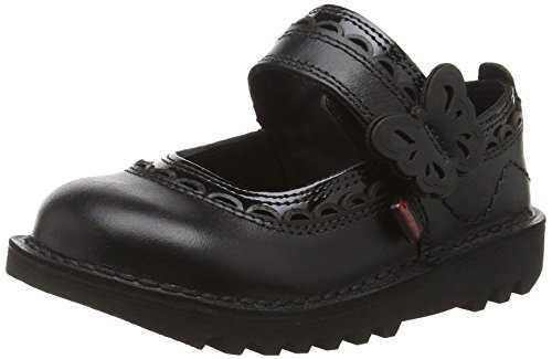 kickers doli infants mary jane fille noir noir 23 eu. Black Bedroom Furniture Sets. Home Design Ideas