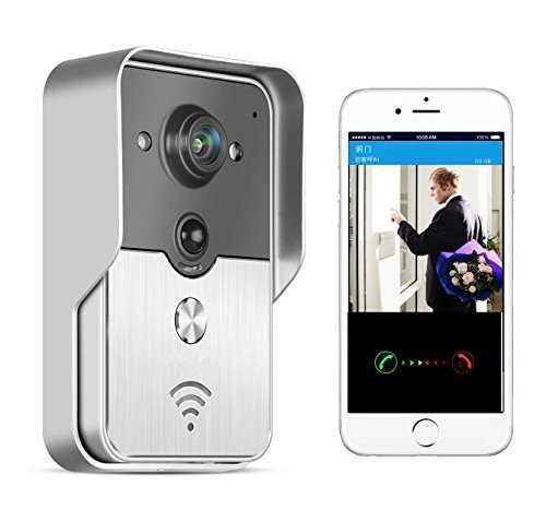 bw wifi sonnette interphone sonnette sans fil ip interfone judas de porte. Black Bedroom Furniture Sets. Home Design Ideas