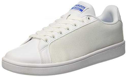 adidas cloudfoam advantage clean chaussures de tennis homme blanc cass. Black Bedroom Furniture Sets. Home Design Ideas