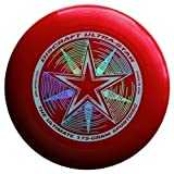 "Discraft Ultra-Star 175g Ultimate Frisbee ""Starburst"" - rouge"