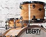 Liberty Drums – Naturel Noir avant Series Drum Kits