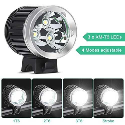 ghb 2 en 1 eclairage v lo vtt et lampe frontale led. Black Bedroom Furniture Sets. Home Design Ideas