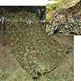 TechCode Filet De Camouflage, Camouflage Camouflage Woodlands, Filet Camo x pour Army Shooting Camping Chasse Militaire Masquer Woodlands jungle Camouflage Desert (4m x 5m, A01)