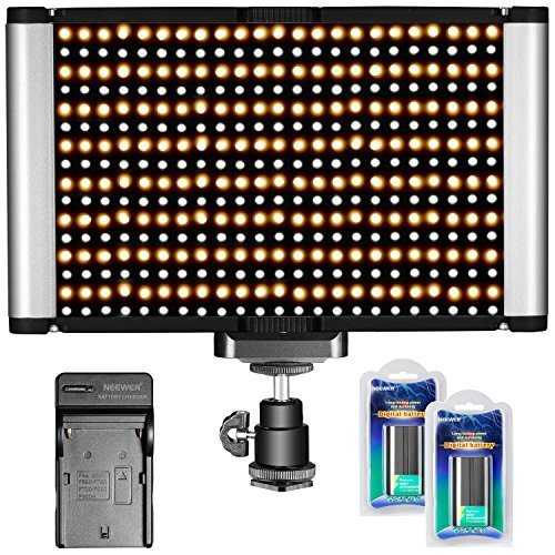 neewer 280 leds cri 95 led panneau de lumi re bicolores dimmable cam ra. Black Bedroom Furniture Sets. Home Design Ideas