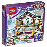 LEGO - 41322 - Friends - Jeu de Construction - La patinoire de la station de ski