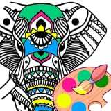 Colourful Mandala Painting Simulator Game For Boys And Girls