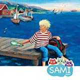 Message in a bottle - Sami Apps bed time stories, A kids story for intercultural understanding with educational activities.
