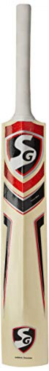 SG Max Cover Kashmir Willow Cricket Bat (Color May Vary)