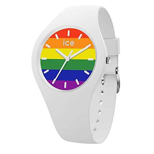 Ice-Watch - ICE change Rainbow - Montre blanche mixte avec bracelet en silicone - 016647 (Medium)