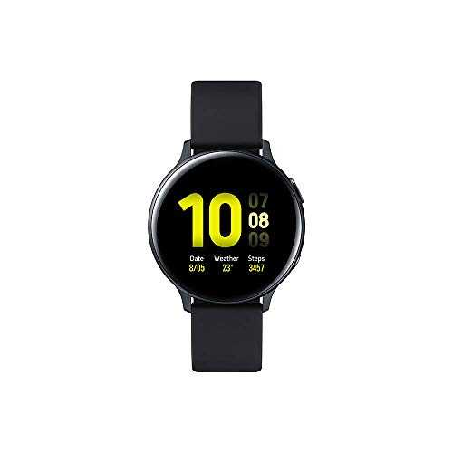 Samsung - Montre Galaxy Watch Active 2 - Aluminium 44 mm - Noir Carbone - Version Française