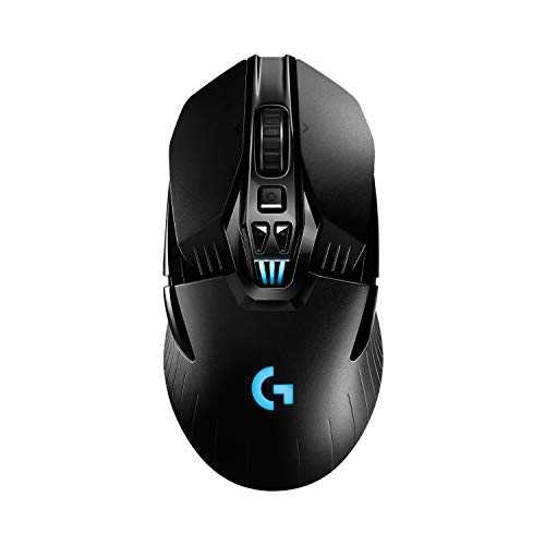 Logitech G903 LIGHTSPEED, souris gaming sans fil avec capteur HERO 16K, plus de 140 heures d'autonomie rechargeable et LIGHTSYNC RVB, Compatible POWERPLAY, ambidextre, Emballage Europe de l'Ouest(FR)