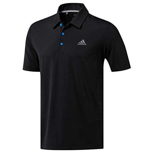 adidas Ultimate 365 Solid Crestable Polo Shirt, Noir (Negro Dq2350), Small Homme