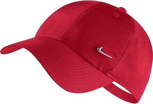 Nike Heritage 86 Metal Swoosh Chapeau Homme, Gym Red, Taille Unique