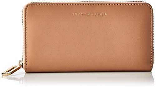 Tommy Hilfiger Soft Turnlock Lrg Za, Sacs bandoulière femme, Rose (Maple Sugar),