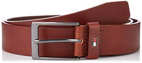 Tommy Hilfiger Layton Belt 3.5 Ceinture, (Brown 0he), 95 (Taille Fabricant: 80.0) Homme