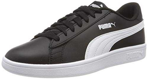 Puma Puma Smash v2 L, Baskets Basses mixte adulte - Noir (Puma Black-Puma White), 42 EU (8 UK)