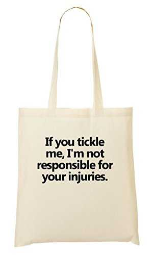 CP If You Tickle I'M Not Responsible Your Injuries Sac Fourre-Tout Sac À Provisions