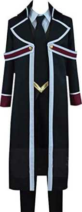 GSFDHDJS Cosplay Kostum for The Royal Tutor Heine Wittgenstein Black