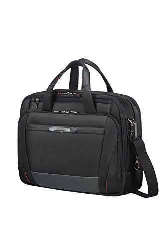 "SAMSONITE PRO-DLX 5 - Bailhandle Extensible 15.6"" Laptop - 17/23L 2.6 KG , Noir"