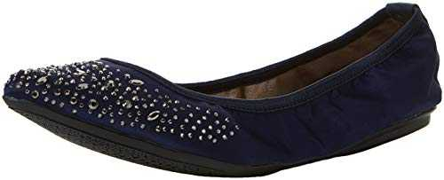 Butterfly Twists Janey Crystal, Semelles Femme, Bleu (Navy), 40 EU