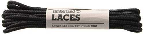 Timberland Round Nylon Laces 52-inch, Lacets Mixte Adulte, Noir (Black), EU