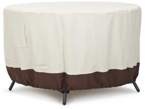 AmazonBasics Housse de protection pour table ronde 122 cm
